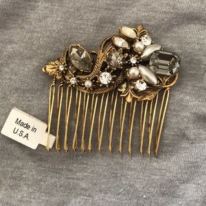 Anthropologie Miss Ellie NYC Hair Pin Comb